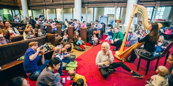 Bach to Baby Borough & London Bridge Christmas Concert Hero Image