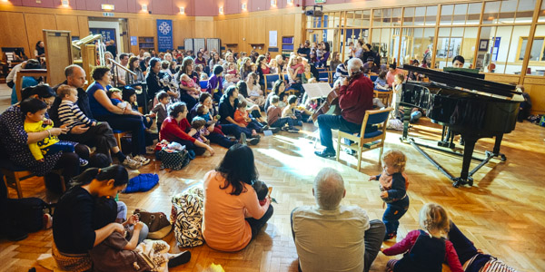 Bach to Baby Bromley Christmas Concert Hero Image