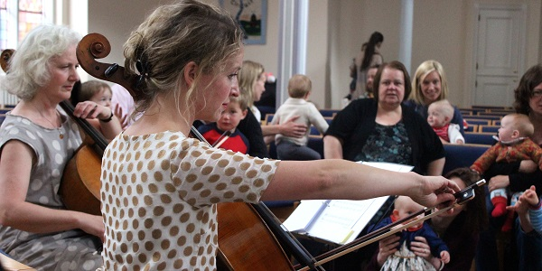 Bach to Baby Canterbury Christmas Concert Hero Image