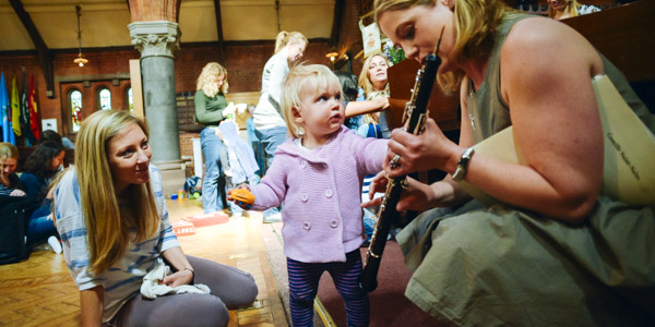 Bach to Baby Clapham Christmas Concert Hero Image
