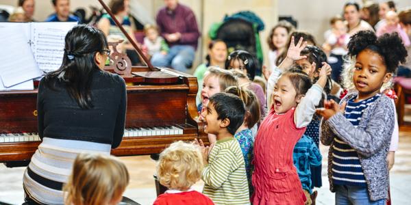 Bach to Baby Croydon Christmas Concert Hero Image