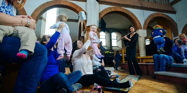 Bach to Baby Maidstone Christmas Concert Hero Image
