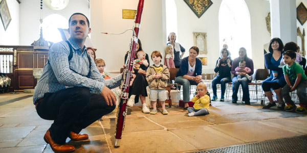 Bach to Baby Farnham Christmas Concert Hero Image