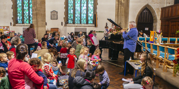 Bach to Baby Earlsfield & Southfields Christmas Concert Hero Image
