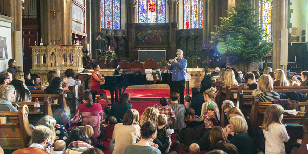 Bach to Baby Sydenham Christmas Concert Hero Image