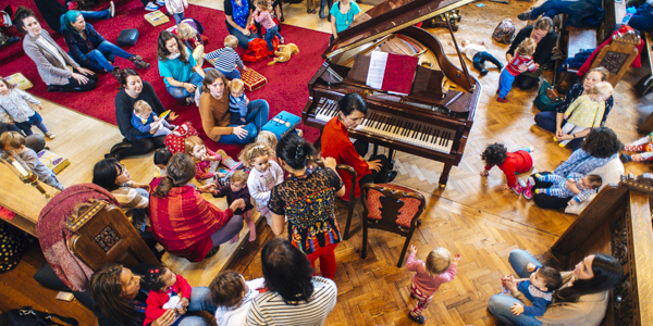 Bach to Baby Twickenham Christmas Concert Hero Image