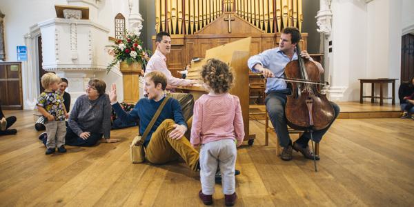 Bach to Baby Wanstead Christmas Concert Hero Image