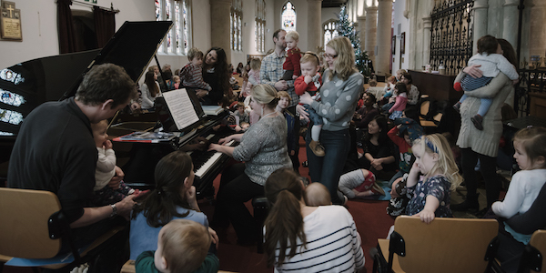 Bach to Baby Henley Christmas Concert Hero Image