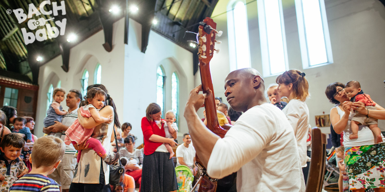 Bach to Baby programme image - Rhythms and Flowers