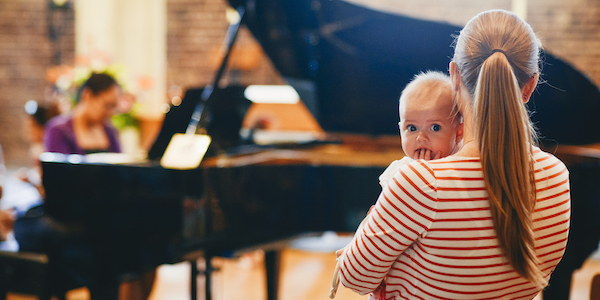 Bach to Baby programme image - Songs My Mother Taught Me