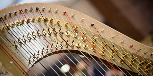 Bach to Baby Programme Image - Harp and Soul