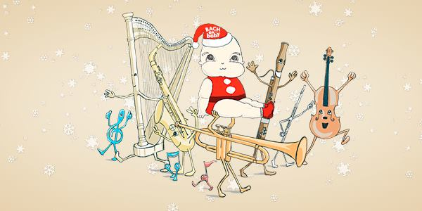 Bach to Baby programme image - Santa Baby