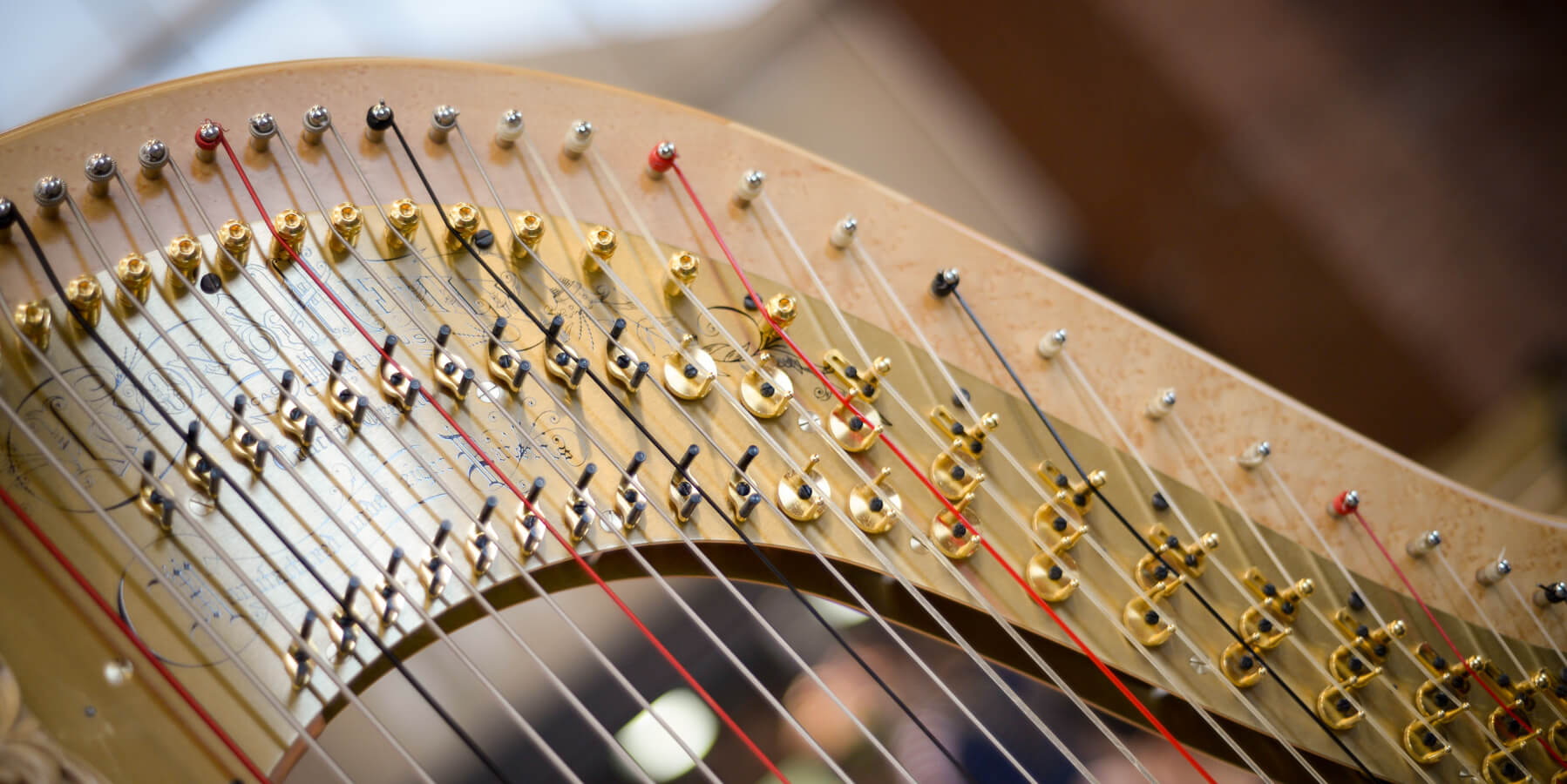 Bach to Baby Programme Image - The Halcyon Harp