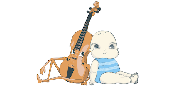 Bach to Baby Programme Image - The Singing Cellist