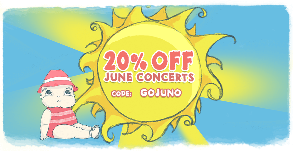 Bach to Baby Online Concerts Summer Sale